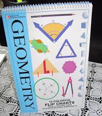 geometry flip chart teaching guide reproducible worksheets