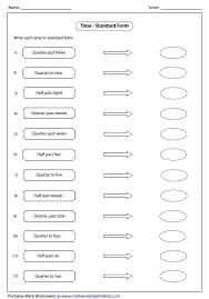 telling time assessment worksheet telling time worksheets