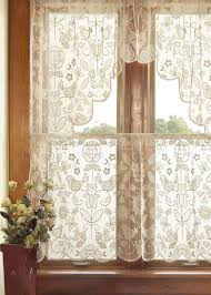 Lace Curtains And Valances Windows Lace Valances For Windows Designs Black Lace Window