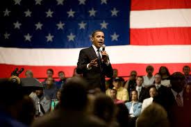 Barack Obama Flag Free Public Domain Image America U0027s First African American