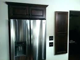 cabinet enclosure for refrigerator cabinet over refrigerator kitchen cabinet fridge fridge cabinet