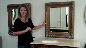 how to choose the perfect sized vanity mirror to go with your bath