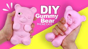 make your own gummy bears diy gummy phone tutorial