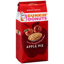 Coffee Dunkin Donut dunkin donuts apple pie ground coffee 11 oz