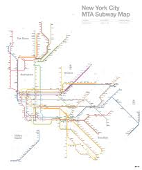 Brooklyn Subway Map by Alex Koplin Redesigning The Nyc Subway Map