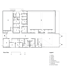 ronald q frederickson theatre floor plan dressing rooms