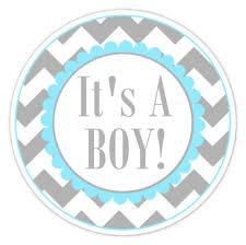 it s a boy baby shower baby shower labels chevron it s a boy stickers 2 5 inch