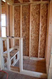 diy bathroom shower ideas diy walk in shower step 1 framing diy crafts