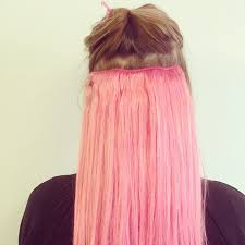 hagan hair extensions rainbow hair