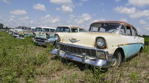 old rusty cars under dust and rust u0027new u0027 classic cars go up for auction kalw