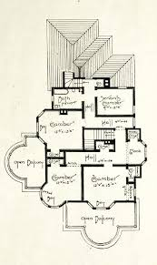 edwardian house plans an edwardian house plan 1905 upper story floor plan house and