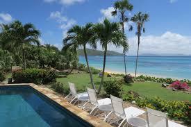 beach dreams luxurious mahoe bay beachfront villa rental
