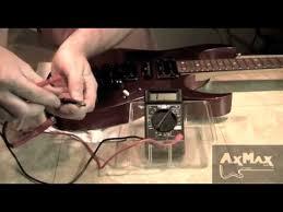 electric guitar restoration ibz rg 16 wiring pickups u0026 testing