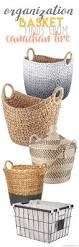 Home Decor Baskets Find Cute And Affordable Baskets From Canadian Tire To Organize