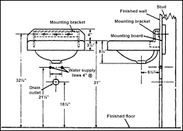 standard sink drain size bathroom plumbing size darpan co