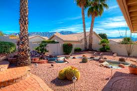 simple arizona backyard desertscape landscaping ideas