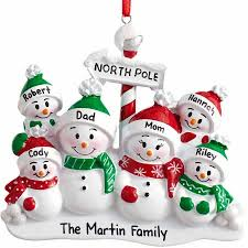 personalized pole family ornament 2 6 family