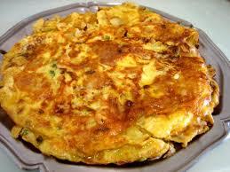 cuisine espagnole facile omelette espagnole au four