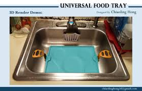 3d printed universal food tray within reach design competition