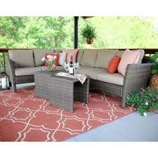 Wicker Patio Table Set Buy Wicker Outdoor Furniture From Bed Bath U0026 Beyond