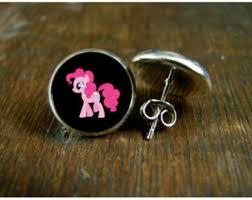 my pony earrings mlp earrings etsy
