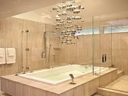 Unique Bathroom Lights Interior Contemporary Bathroom Lighting Soaking Tub With Shower