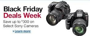 cameras on sale black friday amazon has some awesome prices on sony cameras this weekend