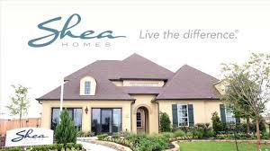 shea homes model home in meridiana plan 6020 youtube