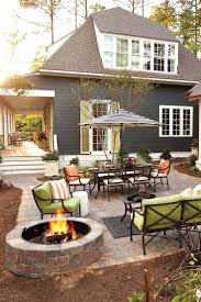 patio ideas diy outdoor fire pit patio margaret kirkland