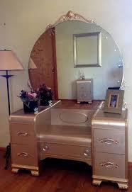 Vanities Furniture Vintage Art Deco Waterfall Vanity With By Churchillhomedecor