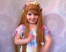 Flower Child Halloween Costume - kids wig custom wigs flower costume fairy costume costume
