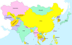 World Map Korea Asia Political Map Full Size Within All World Maps