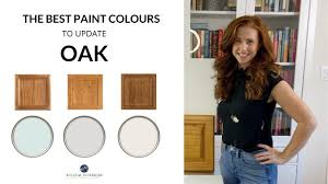 what paint colors go well with honey oak cabinets the best paint colours to update oak wood cabinets floor or trim