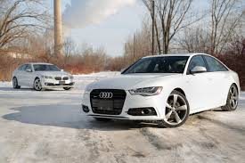 2014 audi a6 tdi vs 2014 bmw 535d xdrive youtube