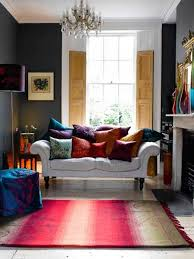 Casual Modern Living Room Designs With Colorful Decor - Bright colors living room