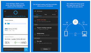 cortana take me to my facebook page cortana will soon read out your android text messages
