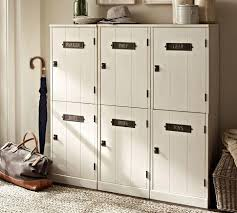 entryway modular components pottery barn