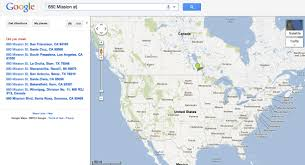 Google Maps Los Angeles Ca by Geocoding How Does The Google Geocoder Work Stack Overflow