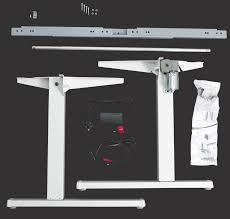 sit stand desk leg kit pedestal sit stand desk ausergo