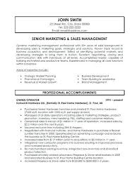 Sample Resumes Sales Sample Resumes For Sales Executives Sample Resume Examples Of