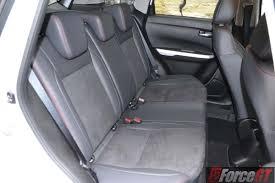 lexus rc backseat 2016 suzuki vitara s turbo rear seats forcegt com