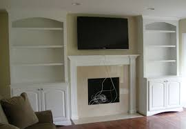 Fireplace Bookshelves by Fireplace Design Ideas With Side Built In Custom Fireplace