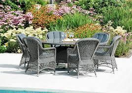 6 Seat Patio Dining Set - monte carlo 6 seater round dining set alexander rose furniture