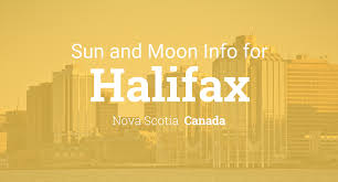sun u0026 moon times today halifax nova scotia canada