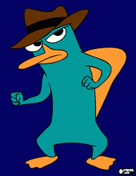 platypus coloring pages perry the platypus coloring pages to print log in tattoo clip