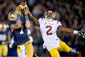 Michael Hutchings Usc Game Preview Notre Dame At Usc One Foot Down