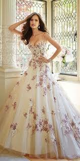 non white wedding dresses 100 colorful non white wedding dresses flower wedding dresses