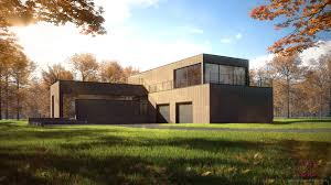 Architecture Visualization by Architectural Visualization Residence Autumn