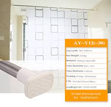 Portable Shower Curtain Rod Adjustable Shower Curtain Rod Factory Supplies Portable