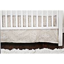 Moon Crib Bedding White Pebble Moon Baby Bedding Set And Boutique